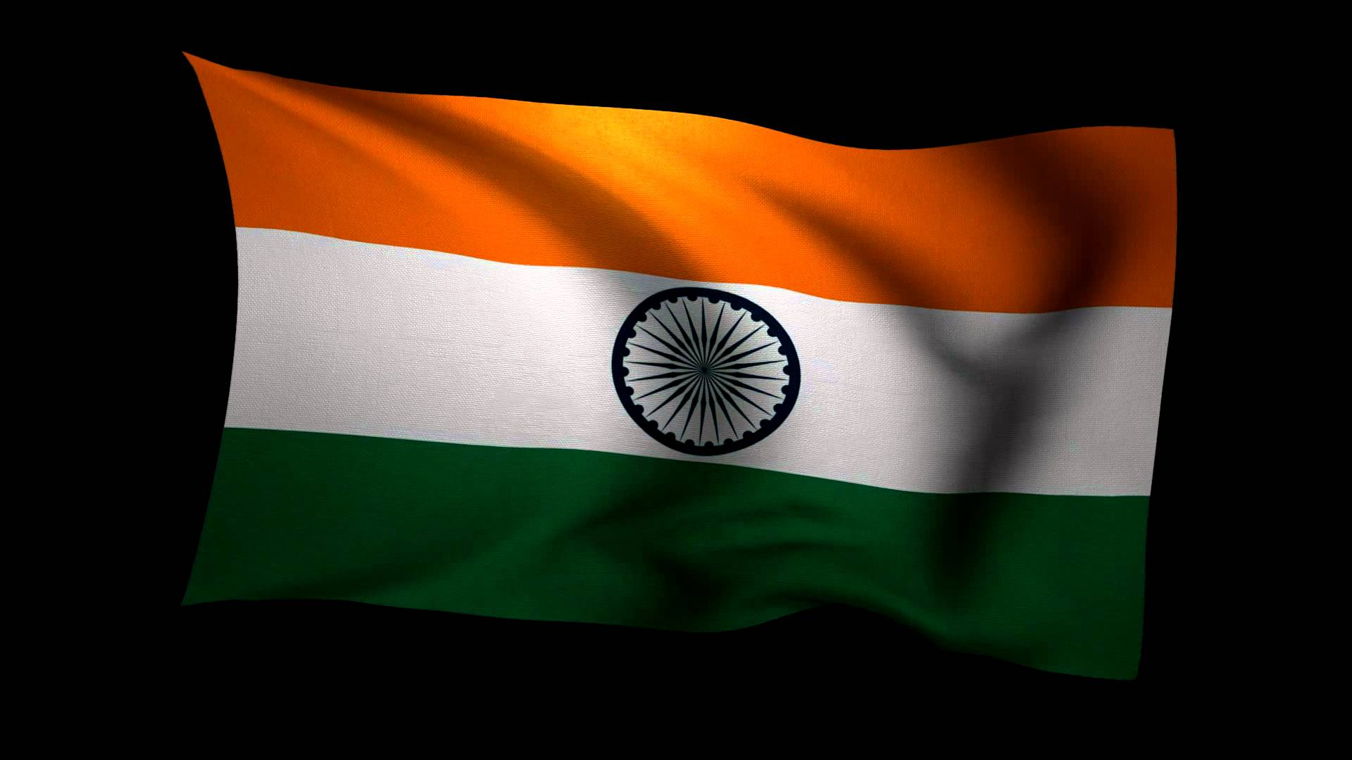 Indian Flag Animated Wallpaper 3D