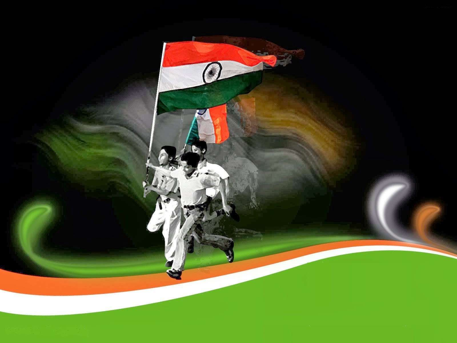 Indian Independence Flag Wallpapers