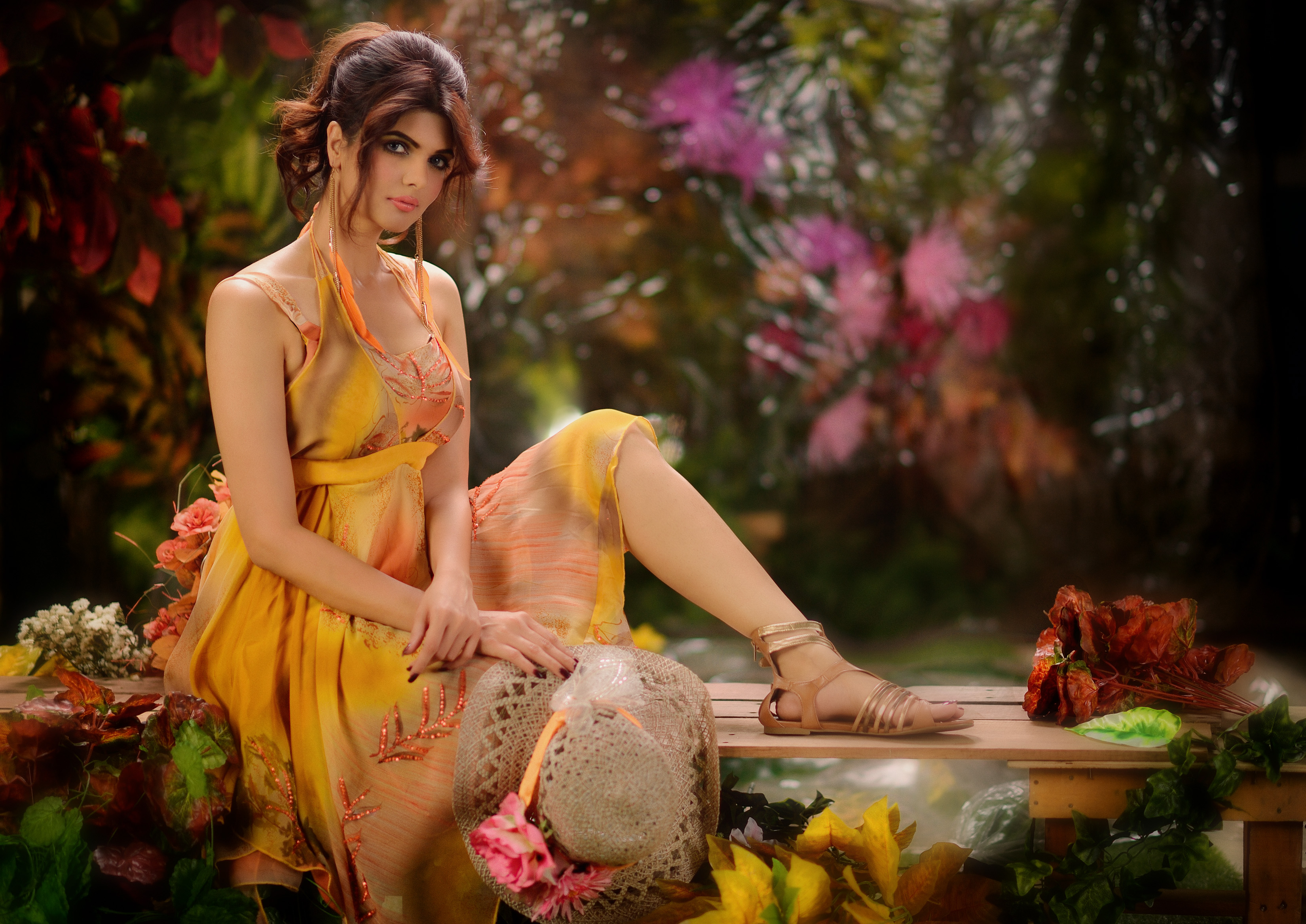 Indian Model HD Wallpaper