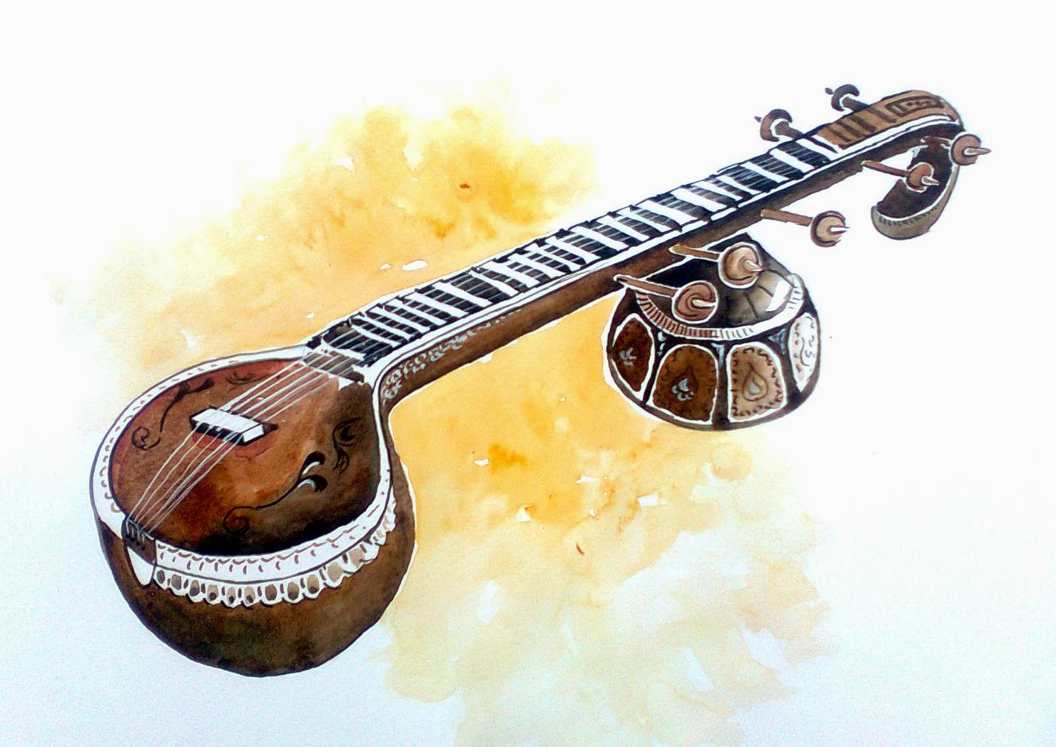 Indian Musical Instruments Wallpapers
