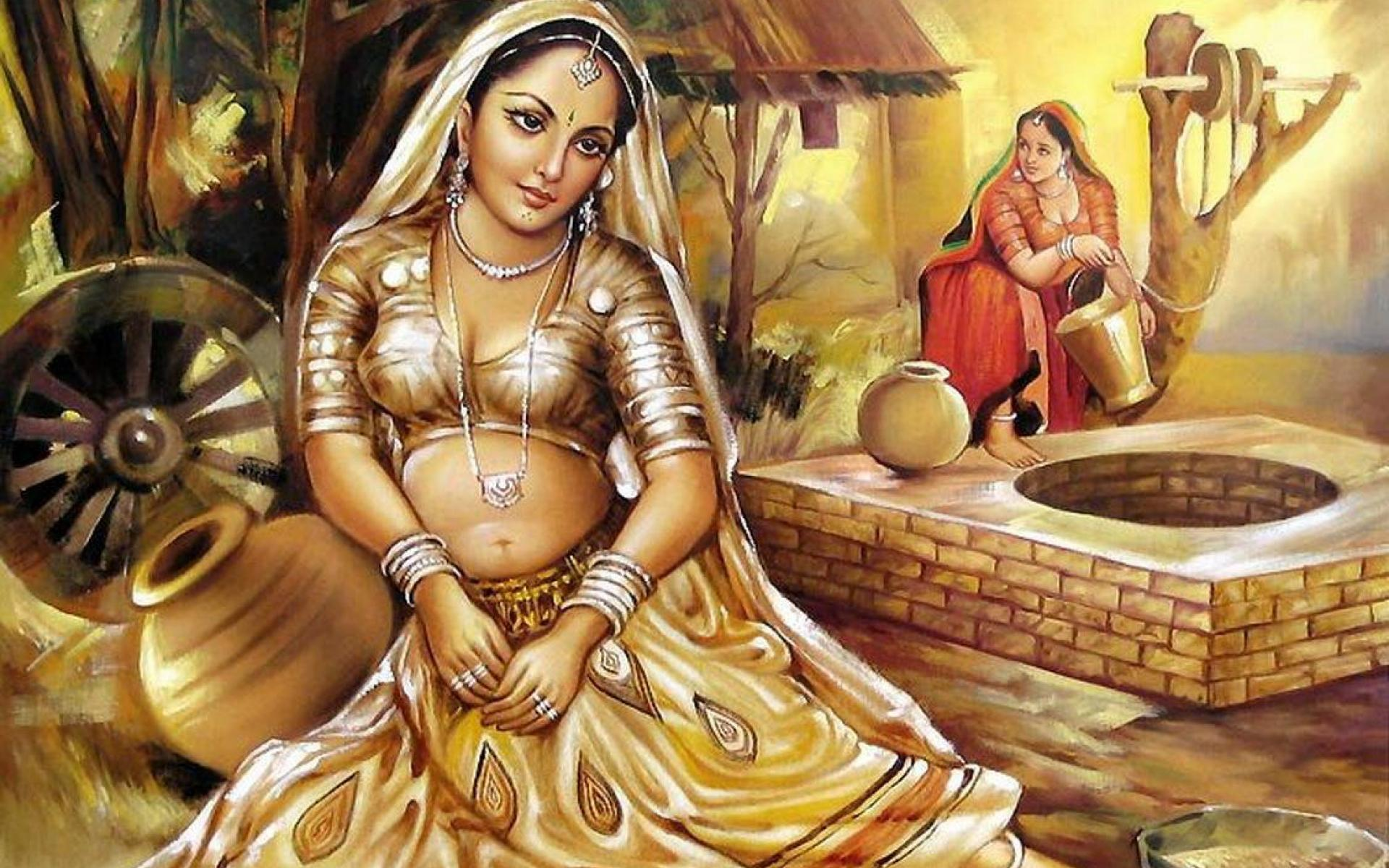 Indian Painting Wallpaper