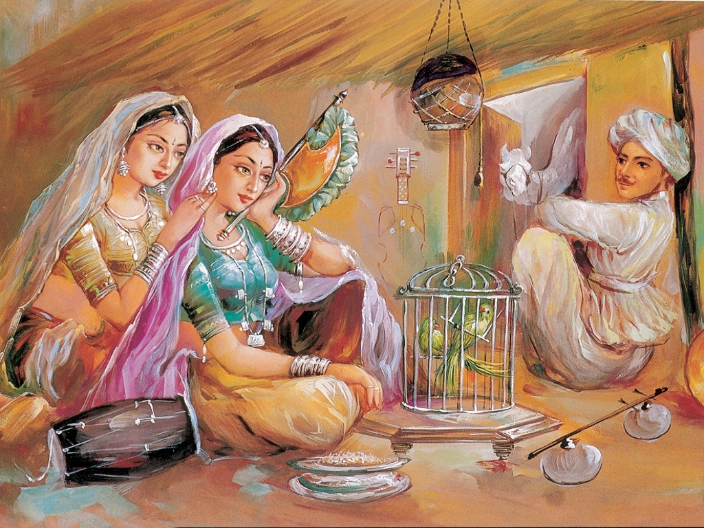 download indian painting wallpaper gallery