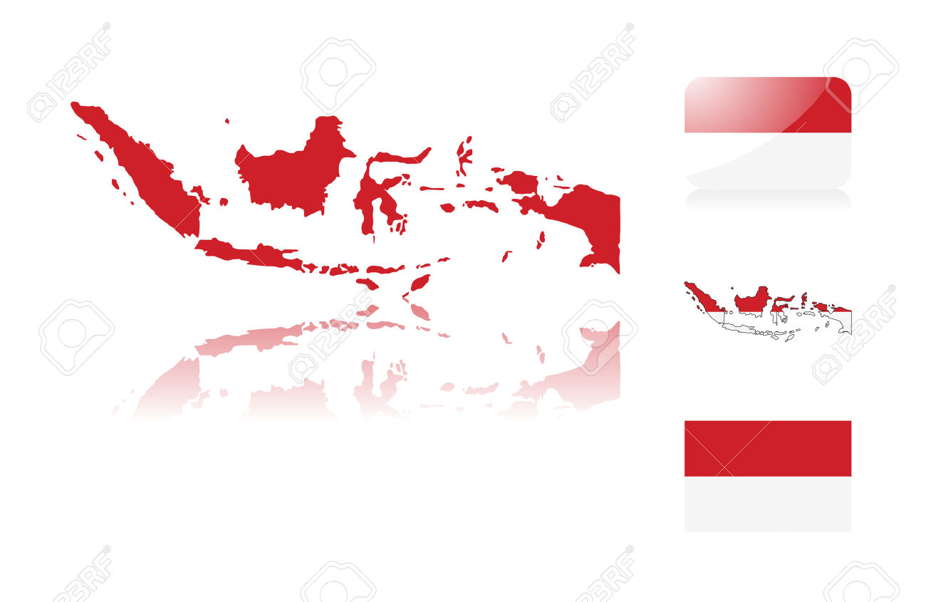 Indonesia Map Wallpaper