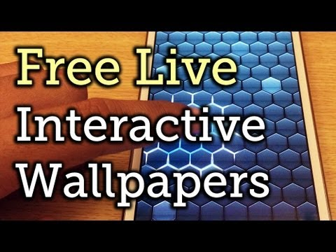 Interactive Live Wallpapers For Android