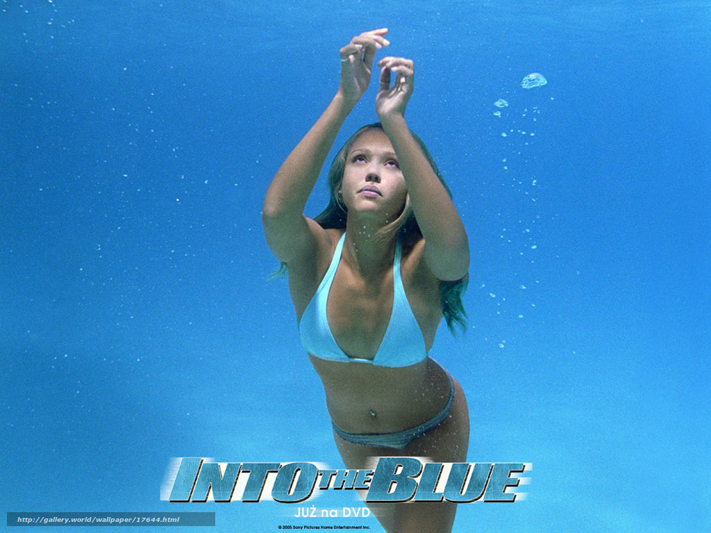 Into The Blue Wallpaper
