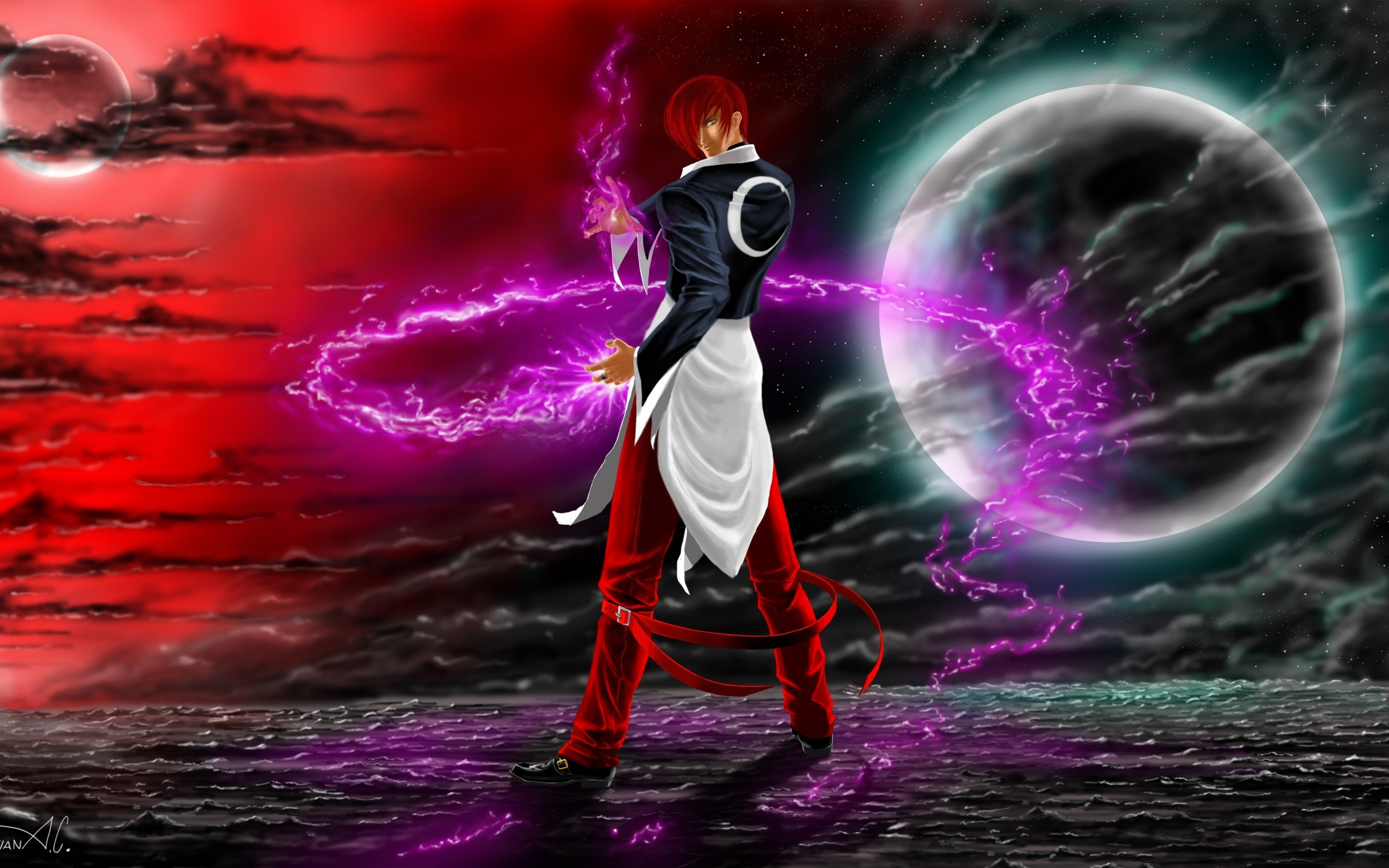 Iori Yagami Wallpapers Download