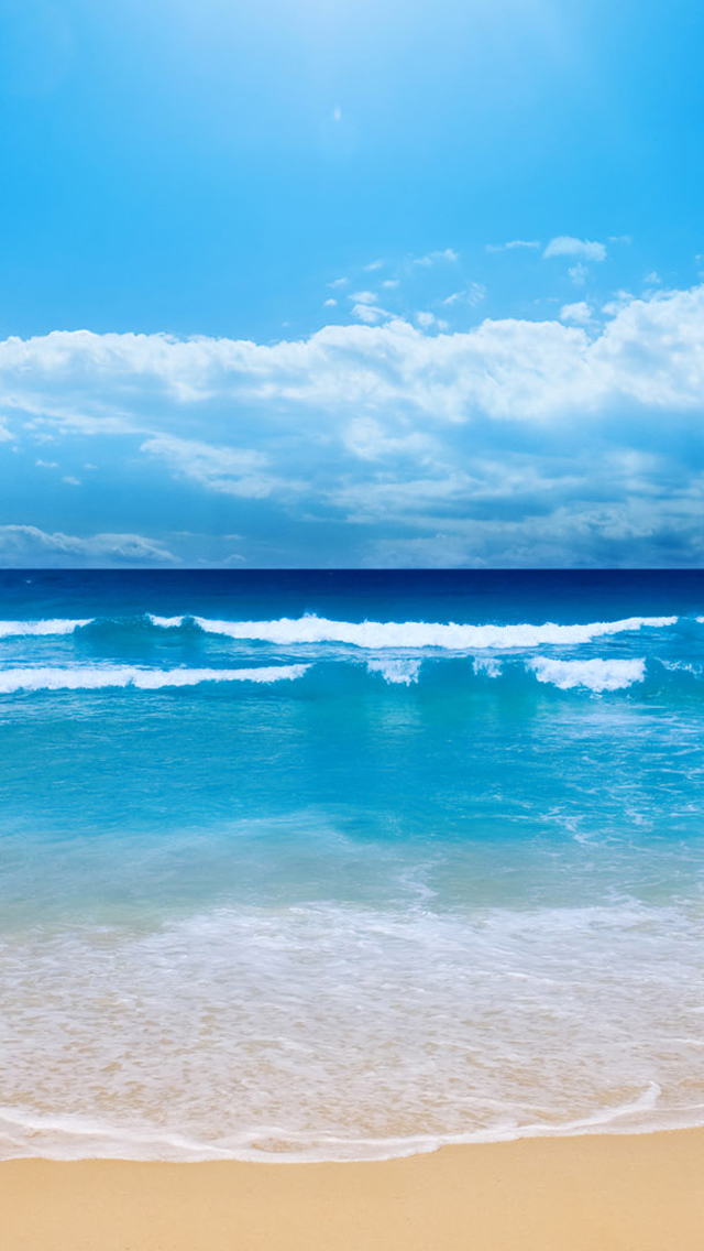 Iphone 5 Beach Wallpaper
