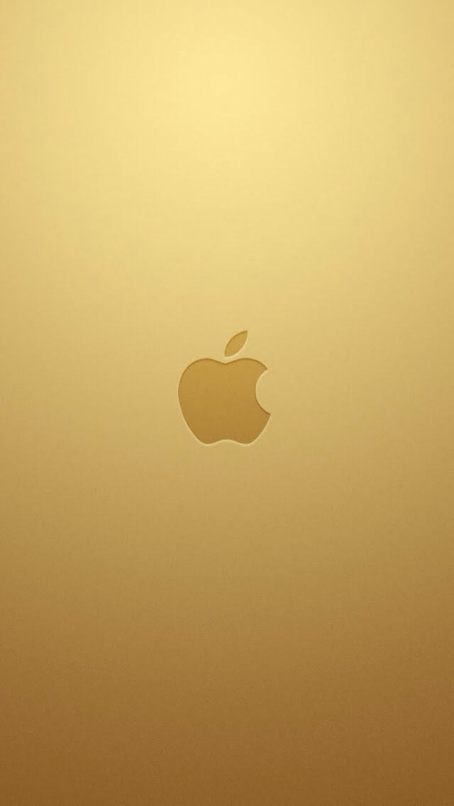 Iphone 5 Gold Wallpaper
