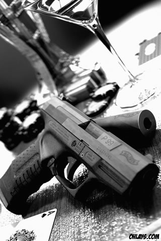 Iphone Gun Wallpaper
