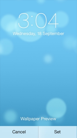 Iphone IOS 7 Animated Wallpaper