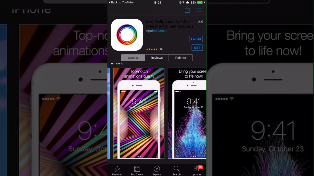 Download Iphone Live Wallpaper No Jailbreak Gallery