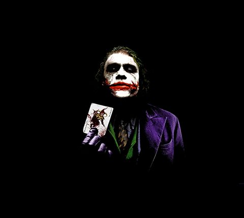 the joker why so serious