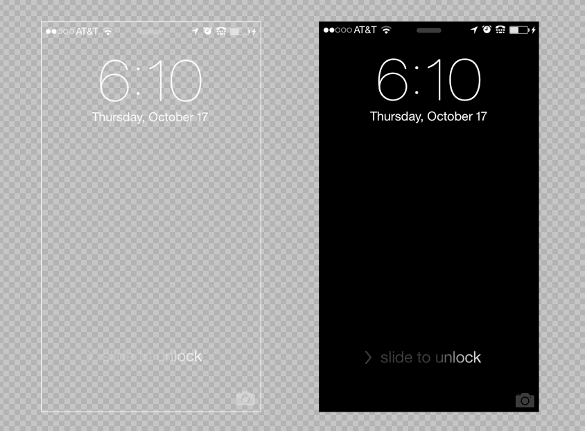 Iphone Wallpaper Template Psd