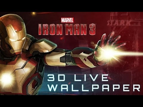 Iron Man 3 3D Live Wallpaper