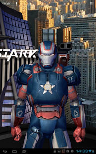 Iron Man 3D Live Wallpaper Apk