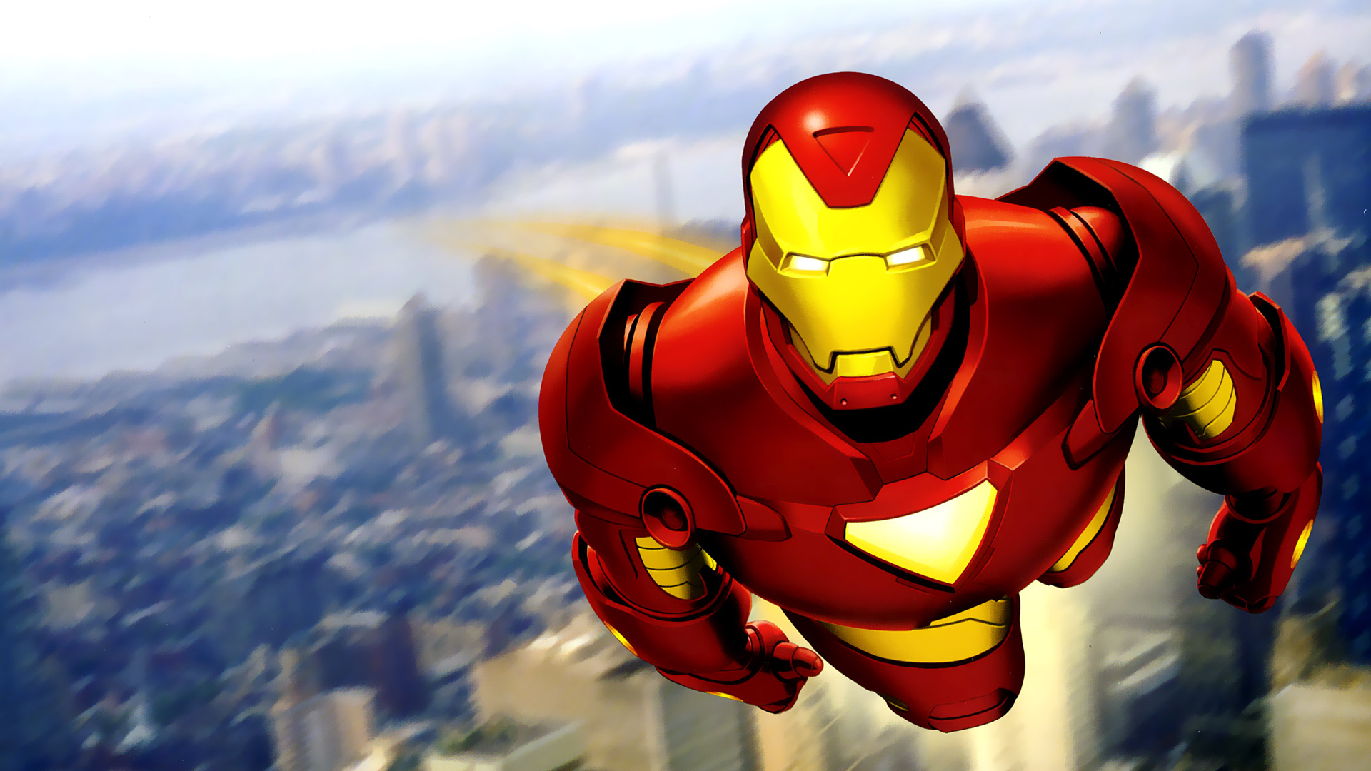 Download Iron Man Cartoon Wallpaper Gallery