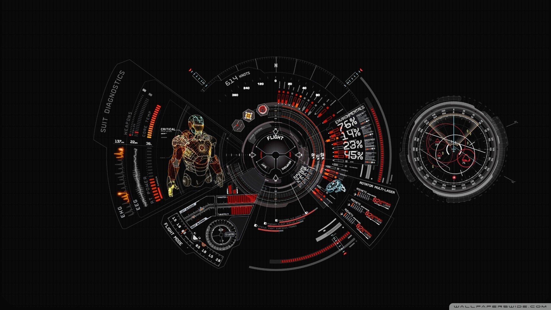 Iron Man HD Desktop Wallpaper