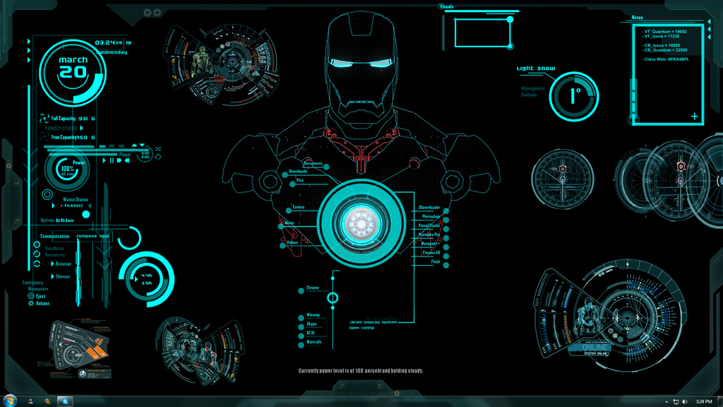 Iron Man Jarvis Wallpaper