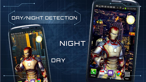 Iron Man Live Wallpaper Apk