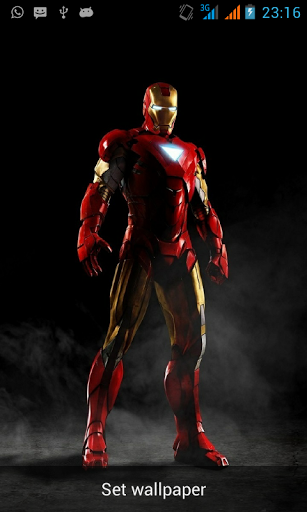download iron man 3 live wallpaper premium for android