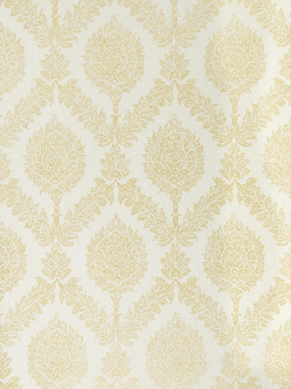 Ivory And Gold Wallpaper