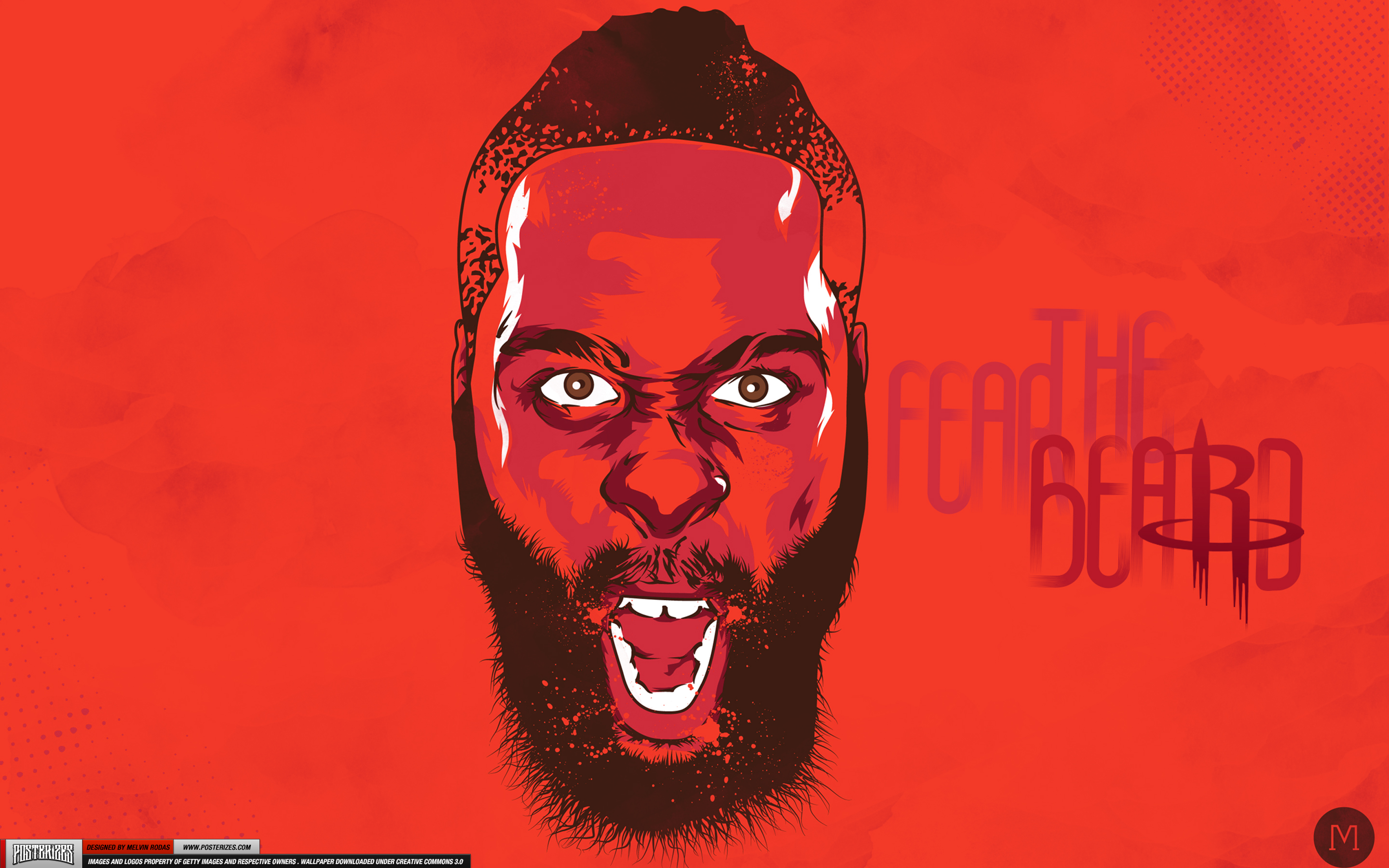 James Harden Fear The Beard Wallpaper
