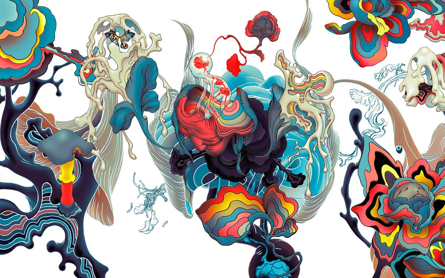 James Jean Wallpaper