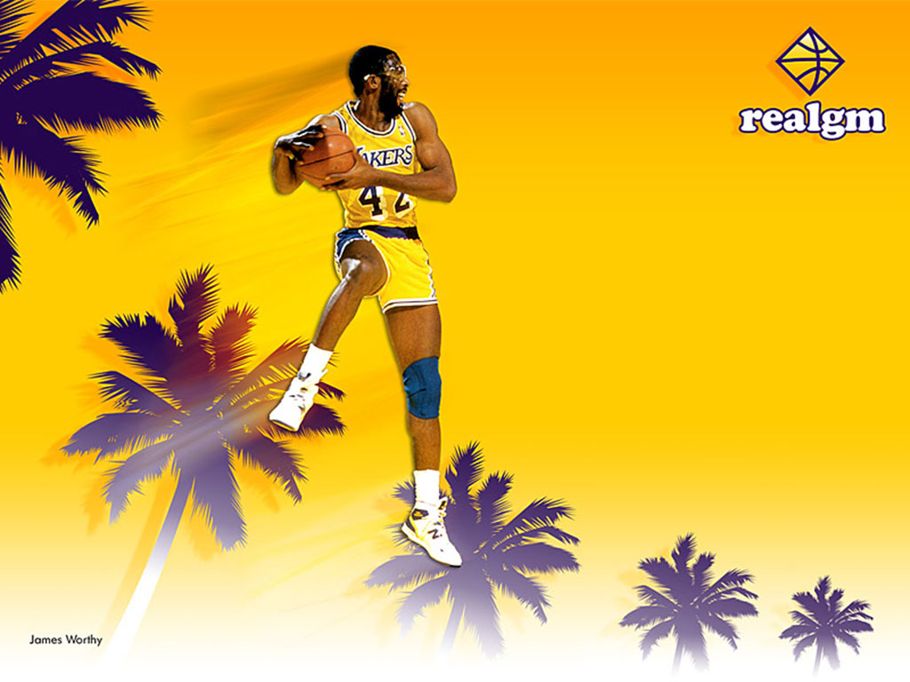 James Worthy Wallpaper