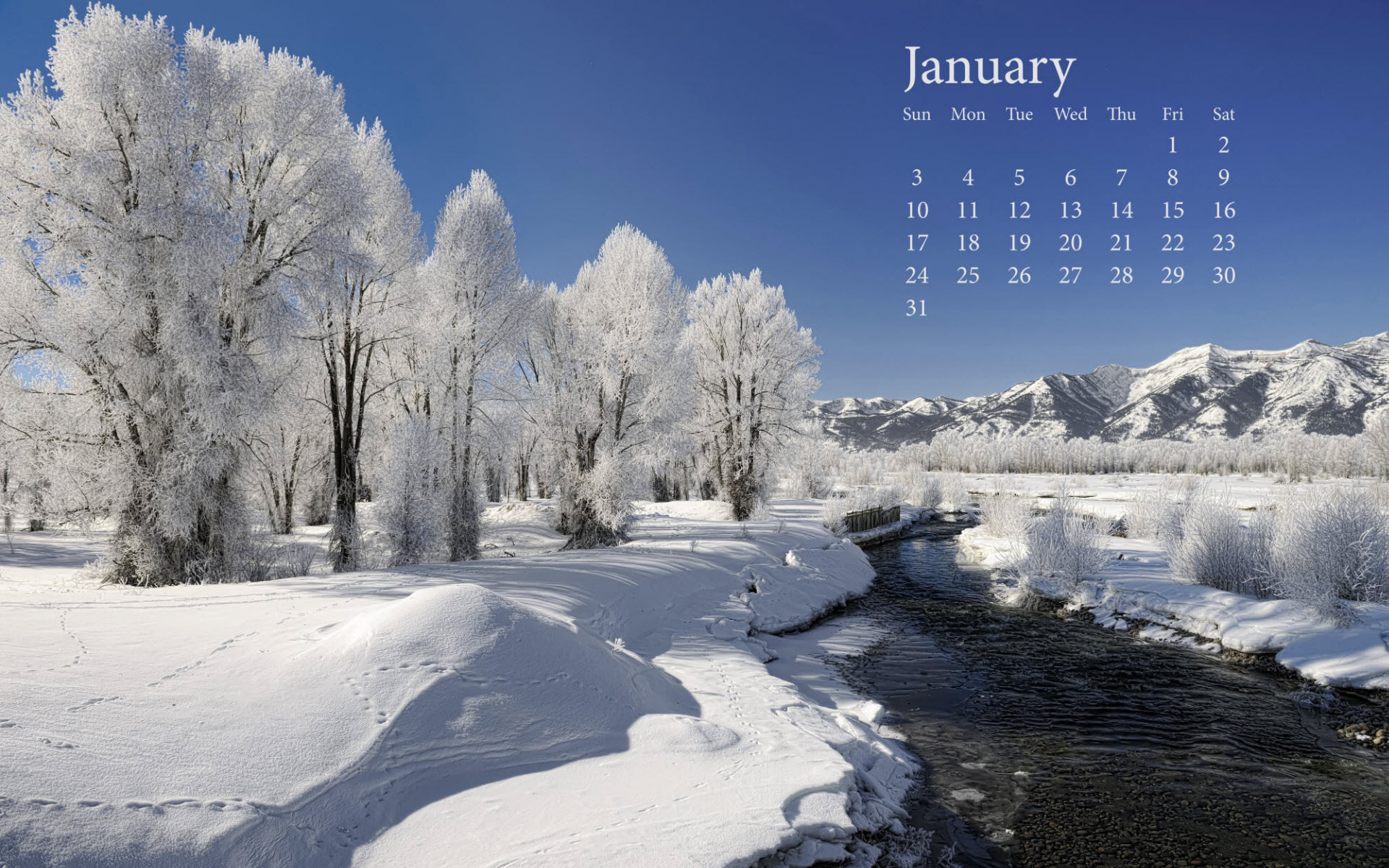 January Pictures Wallpaper