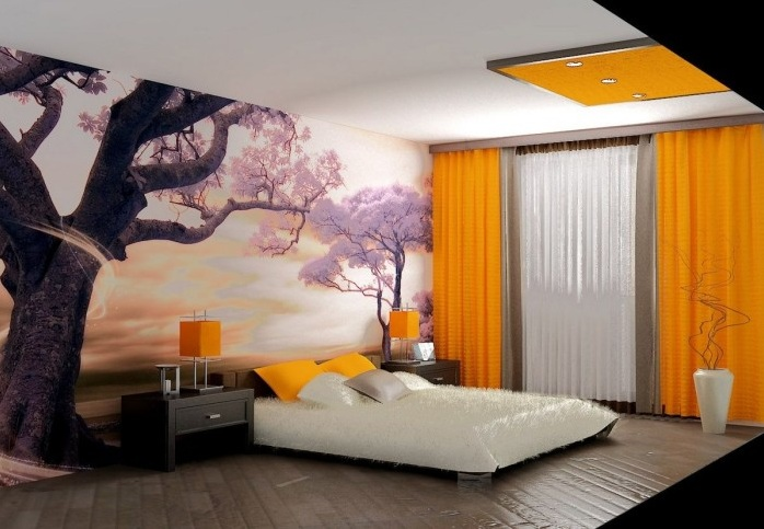Japanese Bedroom Wallpaper