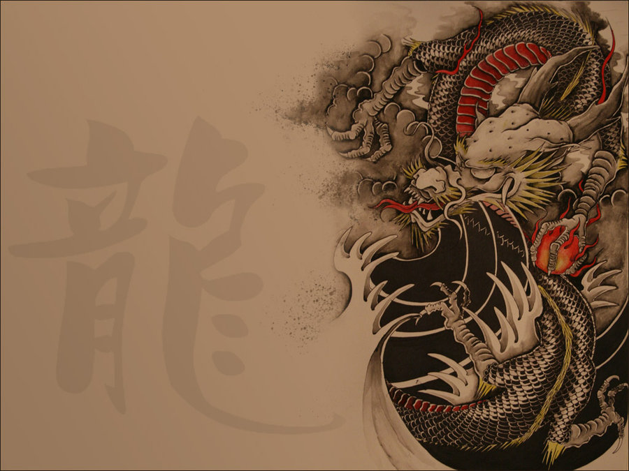 Japanese Dragon Wallpaper