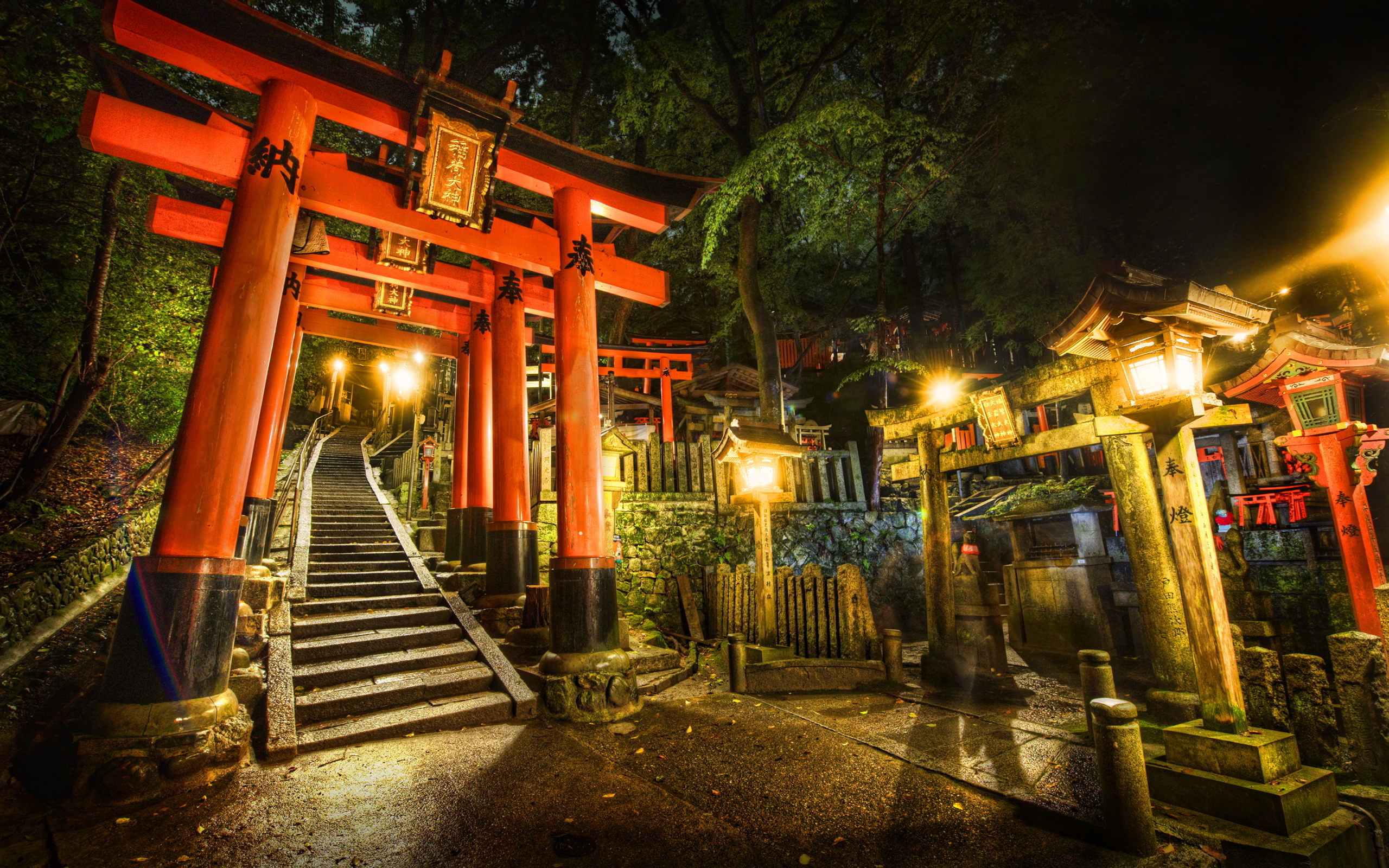 Japanese Shrine Wallpaper