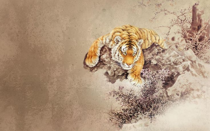 Japanese Tiger Wallpaper