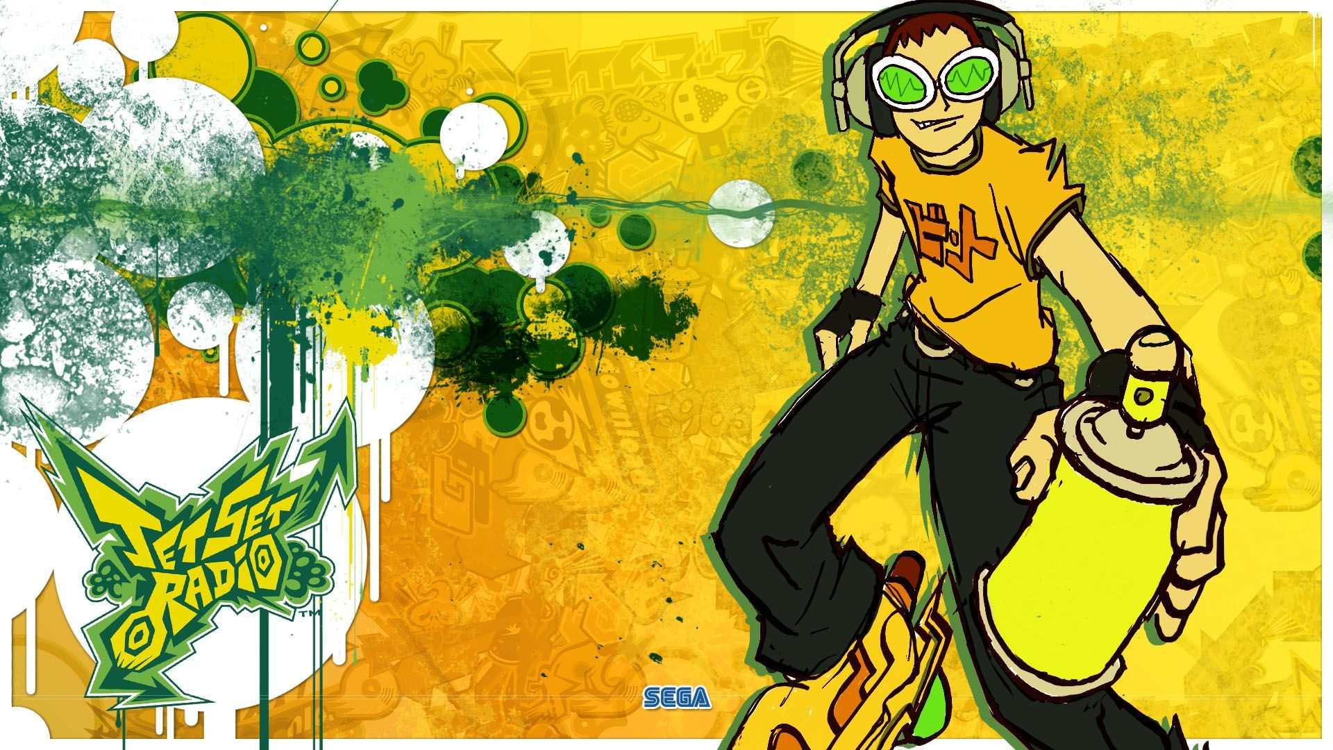 Jet Grind Radio Wallpaper