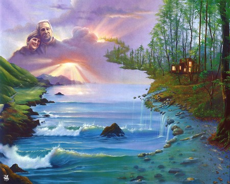 Jim Warren Paintings Wallpaper