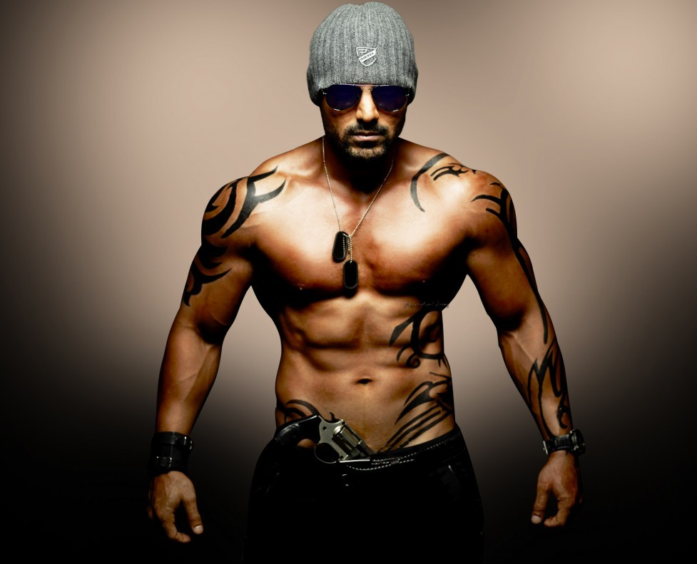 John Abraham Body Wallpaper