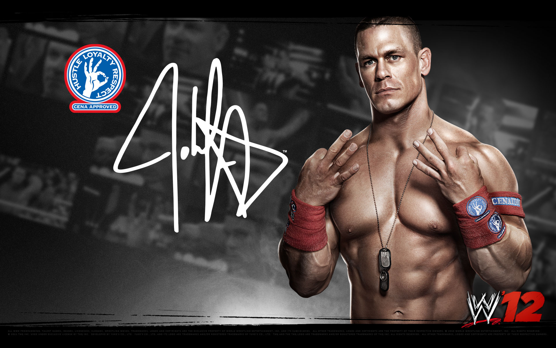 John Cena Wallpaper 2012 HD