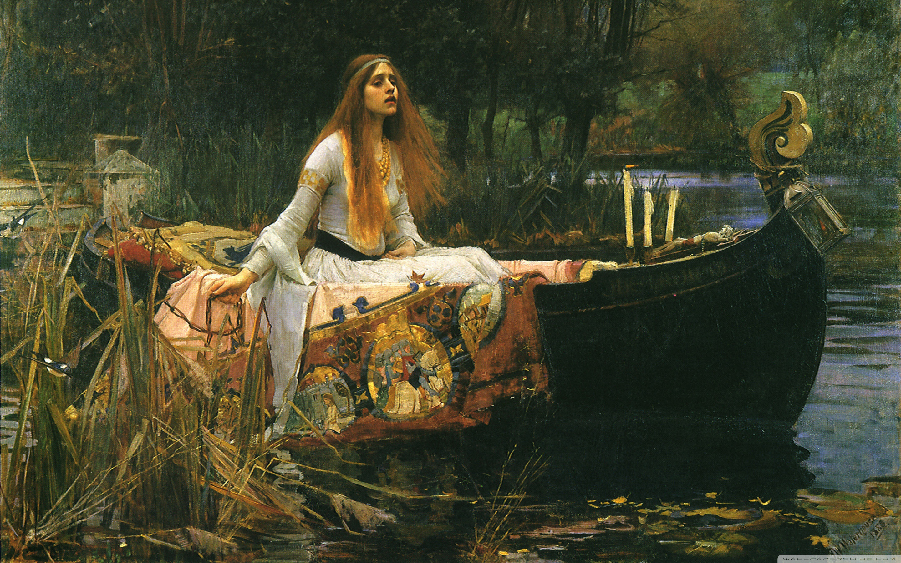 John William Waterhouse Wallpaper