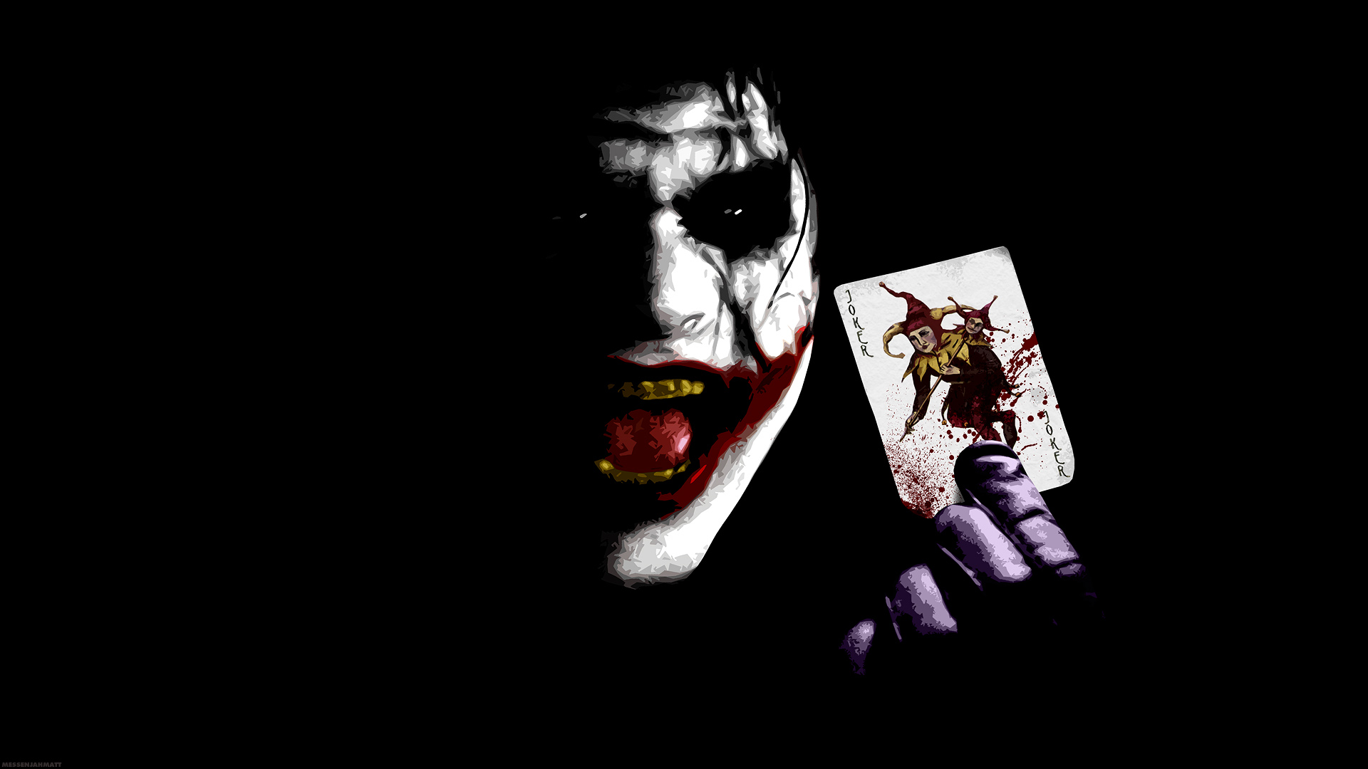 Joker Card Wallpaper HD