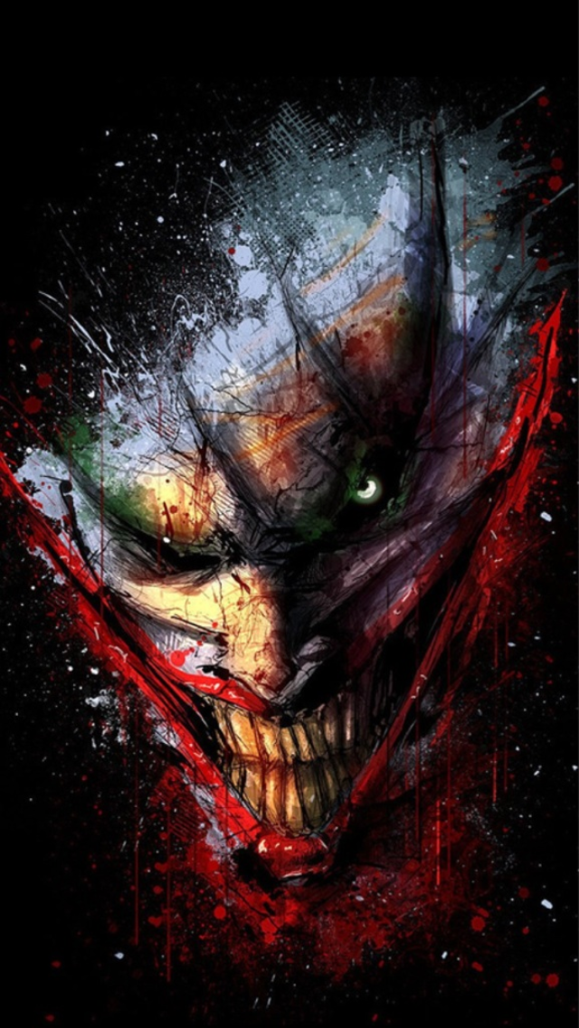 Joker Iphone 5 Wallpaper