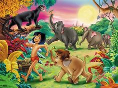 Jungle Book Wallpaper Children Room