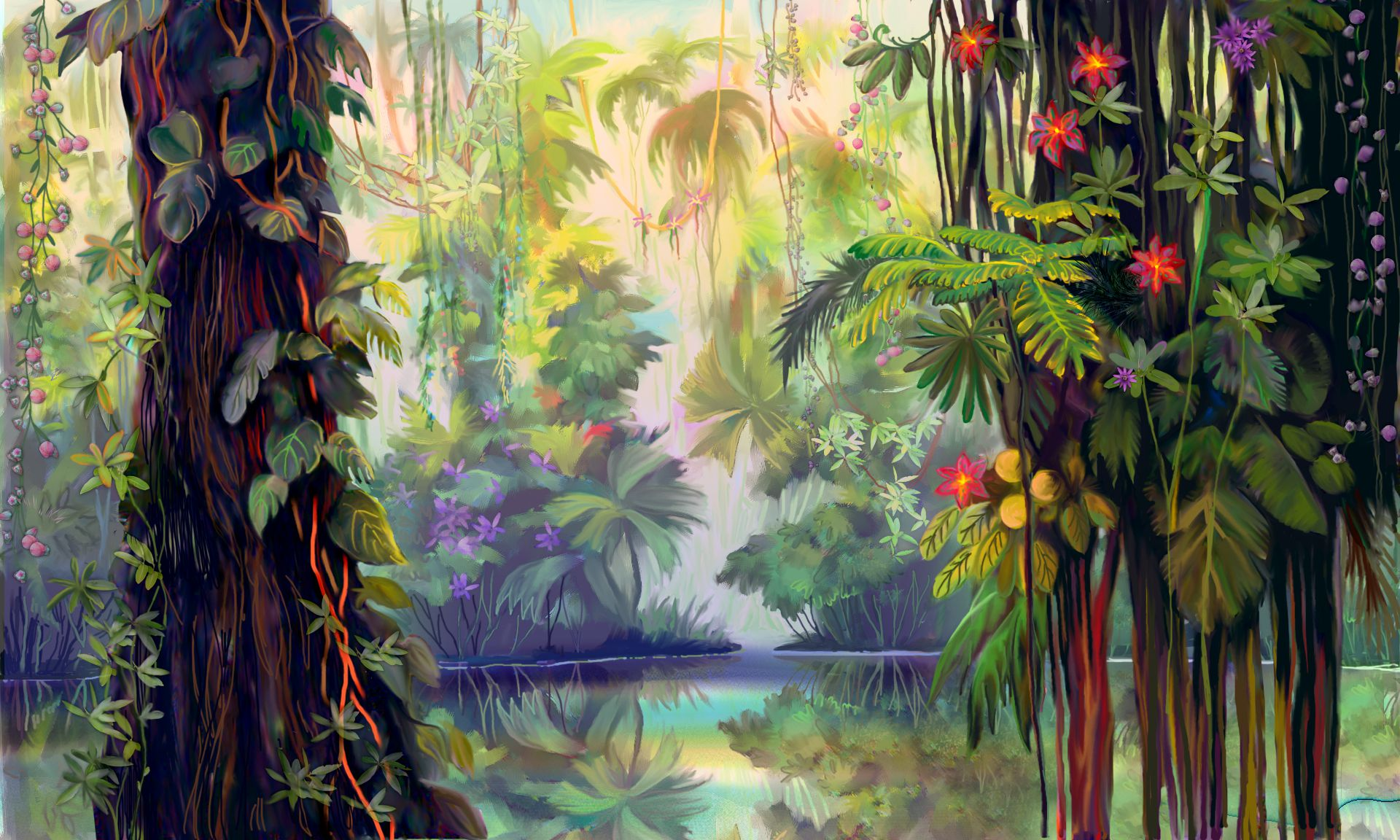 Jungle HD Live Wallpaper
