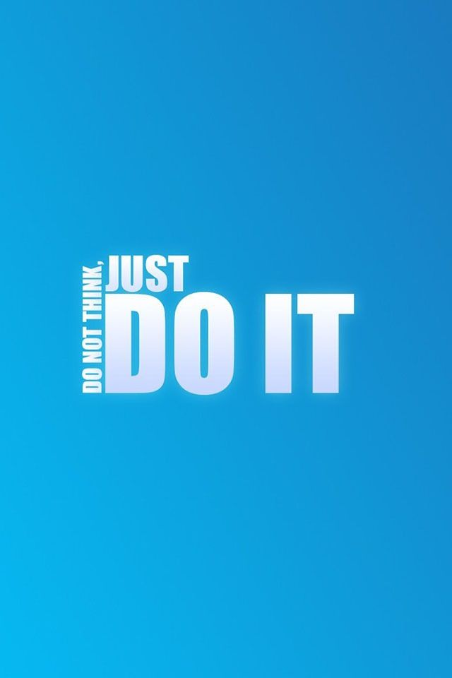 Just Do It Iphone Wallpaper