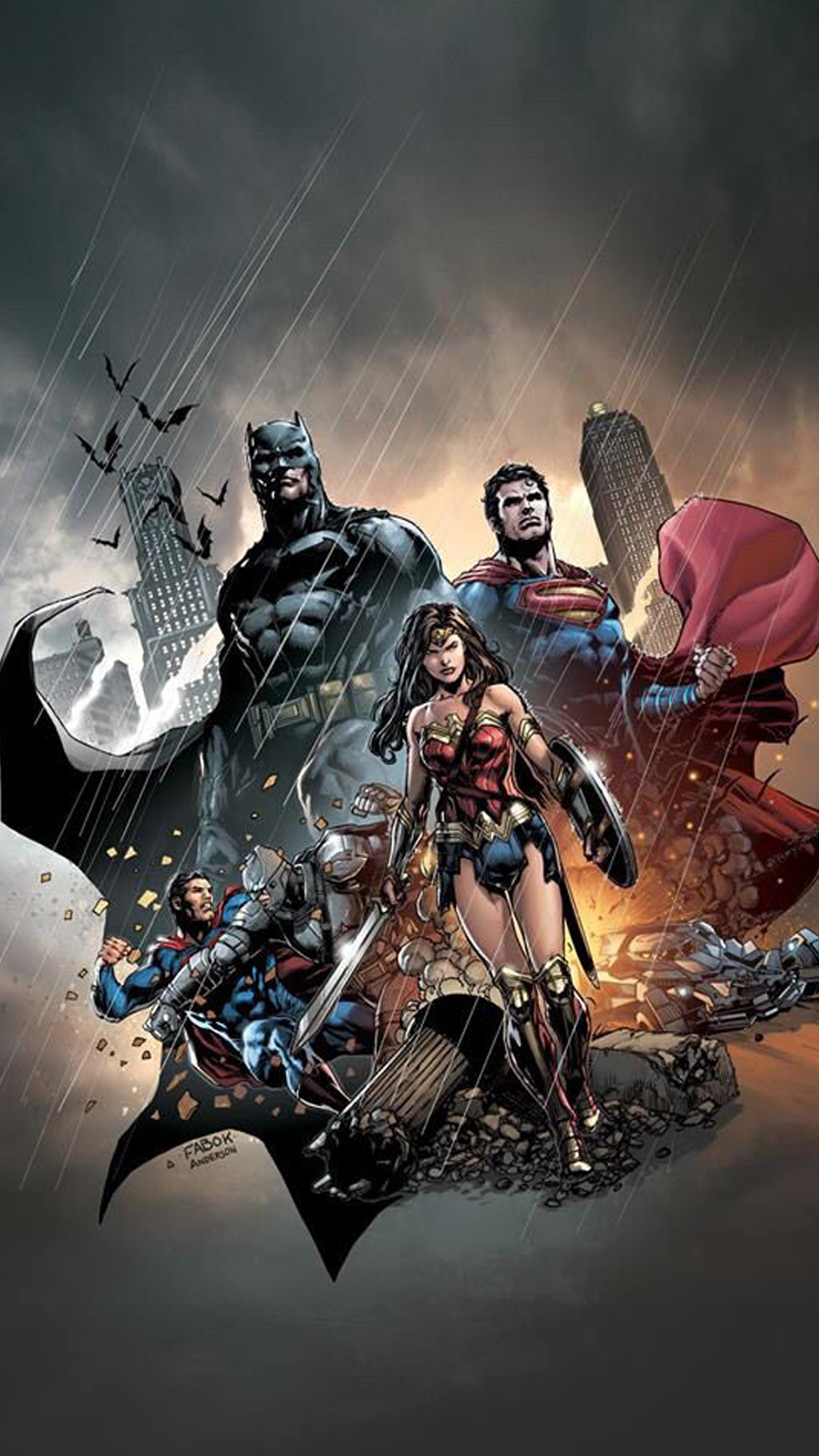 Download Justice League Iphone Wallpaper Gallery New 52