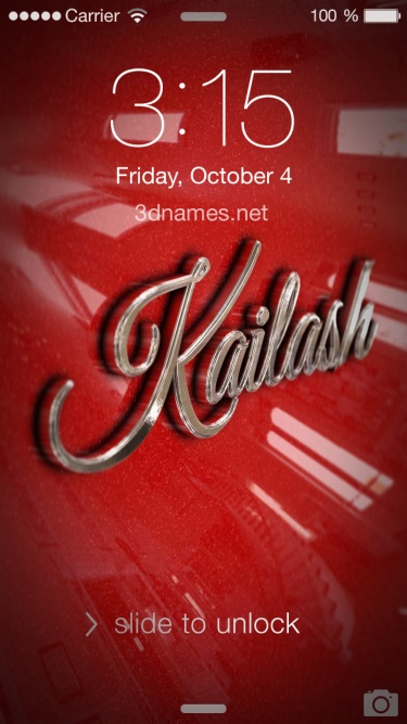 Kailash Name Wallpaper