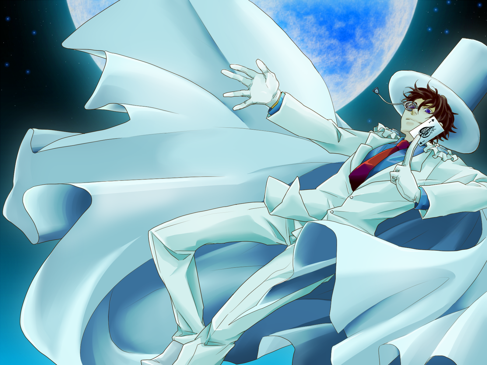 Kaito Kid HD Wallpaper