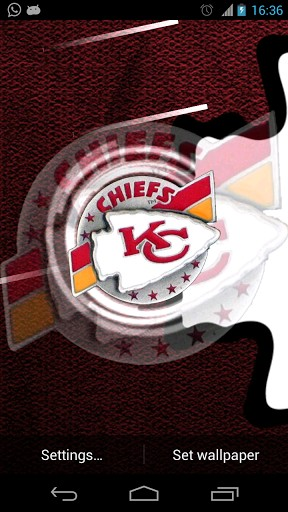 Kansas City Chiefs Live Wallpaper