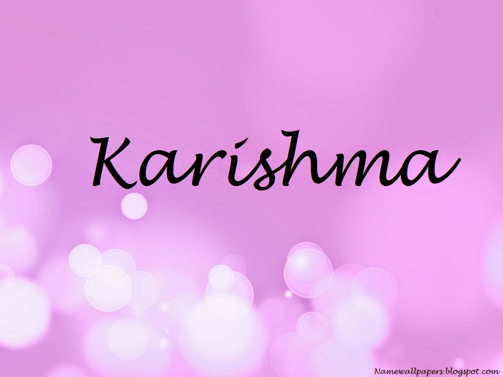 Karishma Name Wallpaper