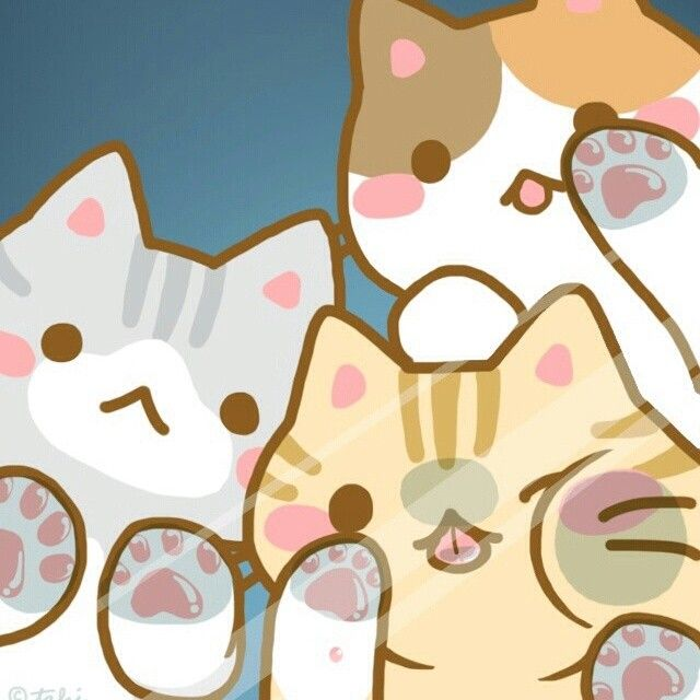 Kawaii Cat Wallpaper