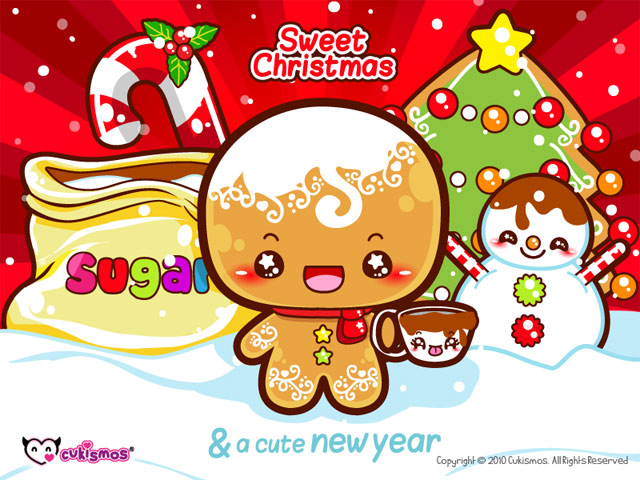 Kawaii Christmas Wallpaper